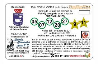 Tarjeta Cornucopia 2017-1